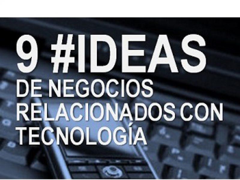 _9 Negocios Rentables en el sector de la tecnología_