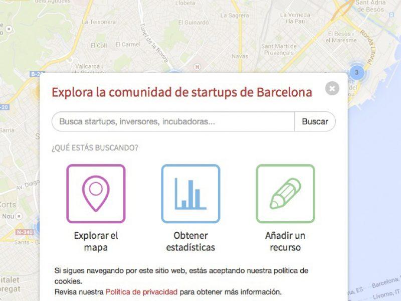 Barcelona pone en marcha un mapa para el emprendedor