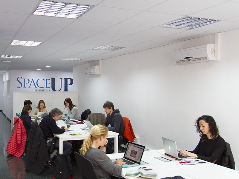 Coworking Space Up experience por Barcelona Freelancer Meetup